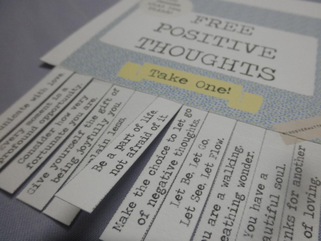 positive thoughts madrid a tu estilo
