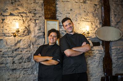Micaela Geminiani y Pedro Natale, chefs y propietarios de La Dominga