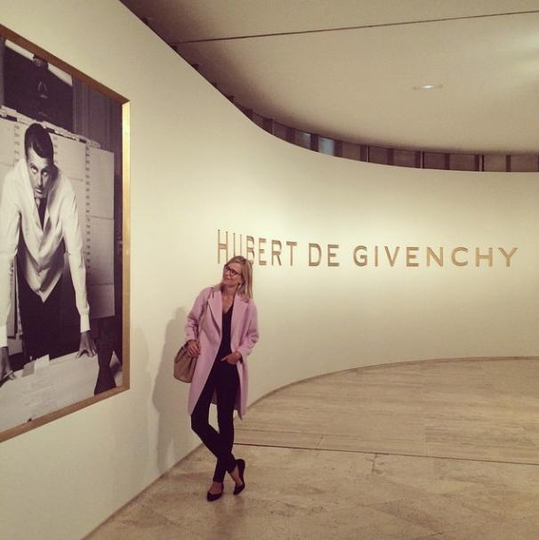 Maria Leon exposición Givenchy