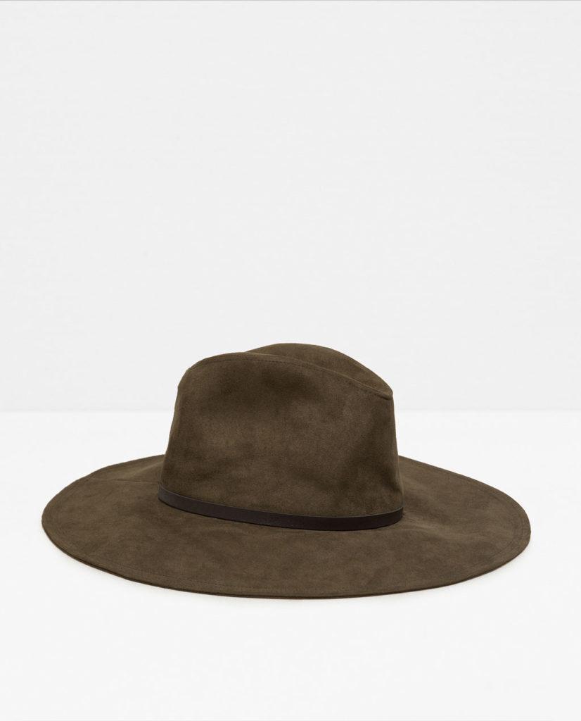 Sombrero de Zara   Madrid a tu estilo