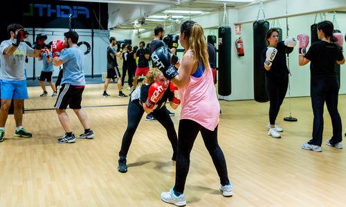 entrenamiento en fightland