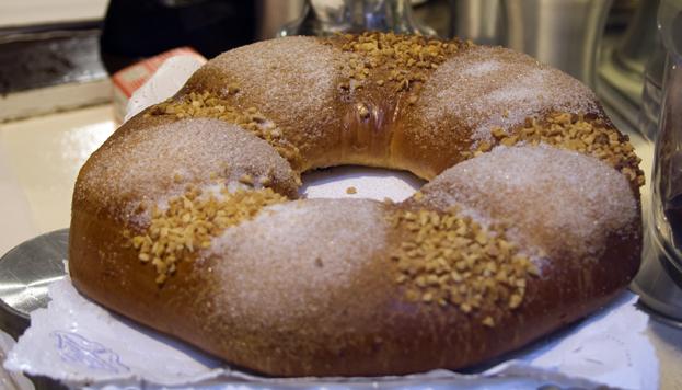 Roscón de Reyes Antigua Pastelería El Pozo Madrid